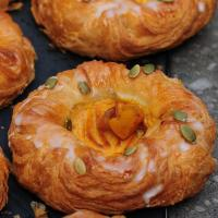 Pumpkin Cheese Danish